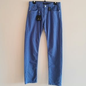 Massimo dutti blue speckled pants size 31